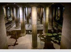 World's largest underground flood diversion facility