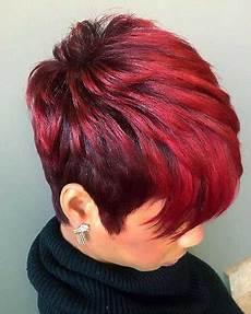 kurzhaarfrisuren frauen rote haare cool 30 haarfarbe ideen f 252 r schwarze frauen frisuren