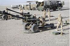 105mm Light Gun For Sale Howitzer 105mm Light Guns Are Lined Photograph By Andrew