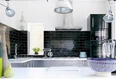 black kitchen backsplash it or it black backsplash tile popsugar home