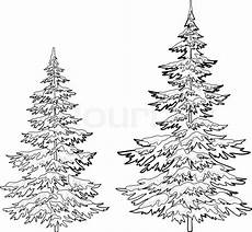 da lett evergreen tree drawing at getdrawings free for