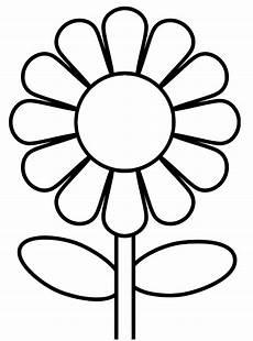 Malvorlage Blumen Einfach Blumen Ausmalbilder Blumen Ausmalbilder
