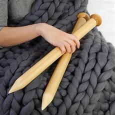 75 cm knitting needles 40 mm knitting by klaso