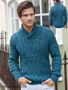 knitting men s cable jumper knitting pattern free maglione uomo
