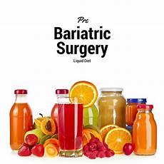 pre bariatric surgery liquid diet bariatric surgery