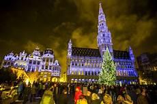 Brussels Christmas Market Light Show Plaisirs D Hiver Winterplezier Christmas Market