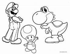 Ausmalbilder Mario Kart Yoshi Mario Yoshi Coloring Pages Coloring Pages