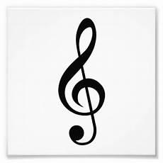 Treble Sign Treble Clef G Clef Musical Symbol Photo Print Zazzle