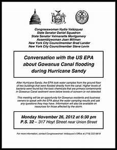 On Monday Epa To Speak About Gowanus Flooding At