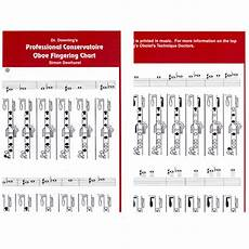 Oboe Chart Professional Oboe Conservatoire Chart