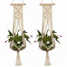 macrame plant hanger large pot holder macrame plant hanger hemp rope braided