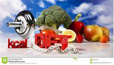 fitness food diet stock image image of food centimeter