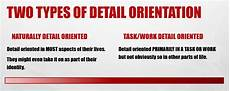 Detail Orientation Are You A Detail Oriented Person Attention To Detail