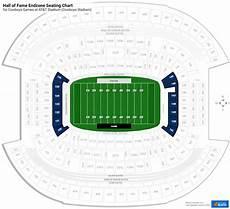 Softball Hall Of Fame Stadium Seating Chart Hall Of Fame Endzone At Amp T Stadium Football Seating