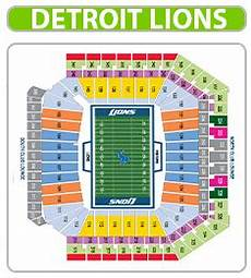 Ford Stadium Seating Chart Ford Field Seating Chart Ford Field Event Tickets