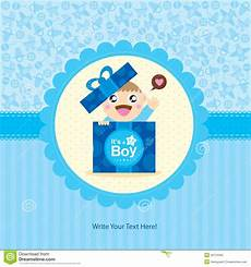 Baby Boy Designs Baby Boy Greeting Card Design Stock Vector Illustration