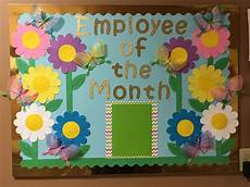 Employee Bulletin Boards Employee Of The Month Bulletin Board Spring 2018