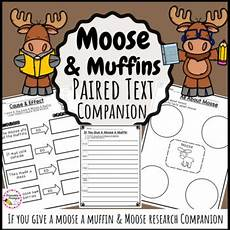 If You Give A Moose A Muffin Pdf Moose Amp If You Give A Moose A Muffin By Printableprompts Tpt