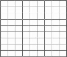 Sudoku Printable Grids Printable Blank Sudoku Grid Sudoku Sudoku Printable Grid