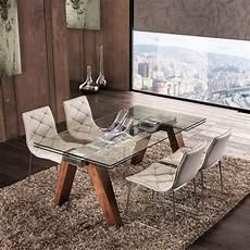 vetro tavolo tavolo in vetro allungabile moderno design originale