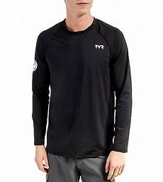 mens swimming shirt sleeve tyr s sleeve swim shirt at swimoutlet