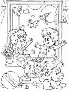 Zoomania Malvorlagen Ru раскраска дети в детском саду детские раскраски