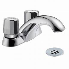 Kitchen Faucet Delta 2 Handle Metering Kitchen Faucet In Chrome 2517lf