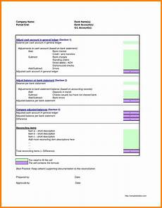Account Reconciliation Template Excel 6 General Ledger Account Reconciliation Template Excel