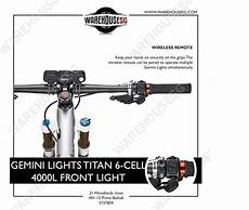 Gemini Titan Light Gemini Lights Titan 6 Cell 4000l Front Light Warehousesg