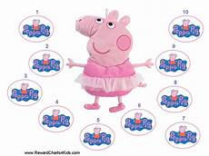 Peppa Pig Sticker Reward Chart Peppa Pig Behaviour Charts Reward Charts Peppa Pig