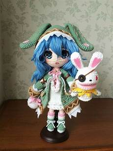 crochet amigurumi doll amigurumi doll anime crafts