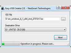Turn ISO files into bootable USBs with Easy USB Creator