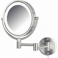Jerdon Lighted Mirror Jerdon Hl88nl 8 5 Quot Led Lighted Wall Mount Makeup Mirror