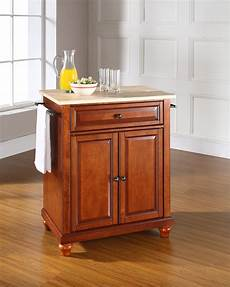 portable islands for kitchen crosley cambridge wood top portable kitchen