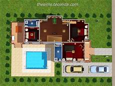 l shaped house the sims fan page