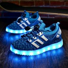 Nike With Light Shoes Glowing Children Athletic Shoes With Usb Rechargeable Kids