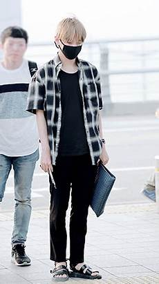 taehyung airport fashion