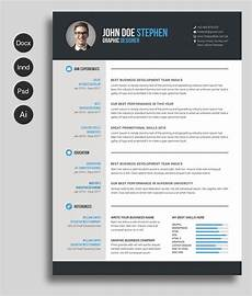Free Cv Free Ms Word Resume And Cv Template Free Cv Template