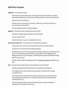 How To Write Soap Notes 40 Fantastic Soap Note Examples Amp Templates ᐅ Templatelab