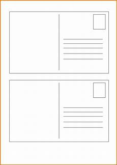 Postcard Template For Word Postcard Template Postcard Printing Postcard Template
