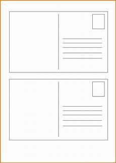 Free Postcard Templates Microsoft Word Postcard Template Postcard Printing Postcard Template