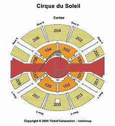 Cirque Du Soleil Oaks Pa Seating Chart Cirque Du Soleil Sbc Park Tickets In San Francisco