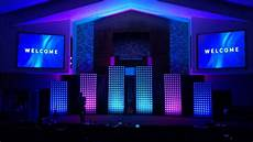 Different Stage Designs A Modern Church Stage Design Idea And How We Did It