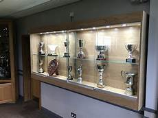 wall mounted trophy cabinet heron cabinets ltd