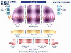 Seating Chart Eugene O Neill Theatre Eugene O Neill Theatre On Broadway In Nyc