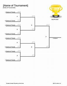 Tournament Table Template Download The Single Elimination Bracket Template From