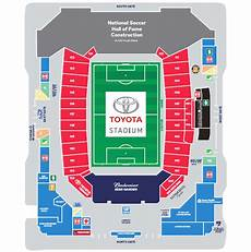 Toyota Field Seating Chart Seating Chart Fc Dallas