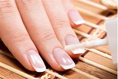 Download Nail Salon Woman In A Nail Salon Receiving Manicure Stock Image