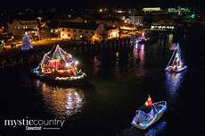 Of Lights 2018 Ct Holiday Lighted Boat Parade 2017 In Mystic Ct