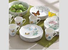 Lenox Butterfly Meadow 18 Piece Dinnerware Set, Service